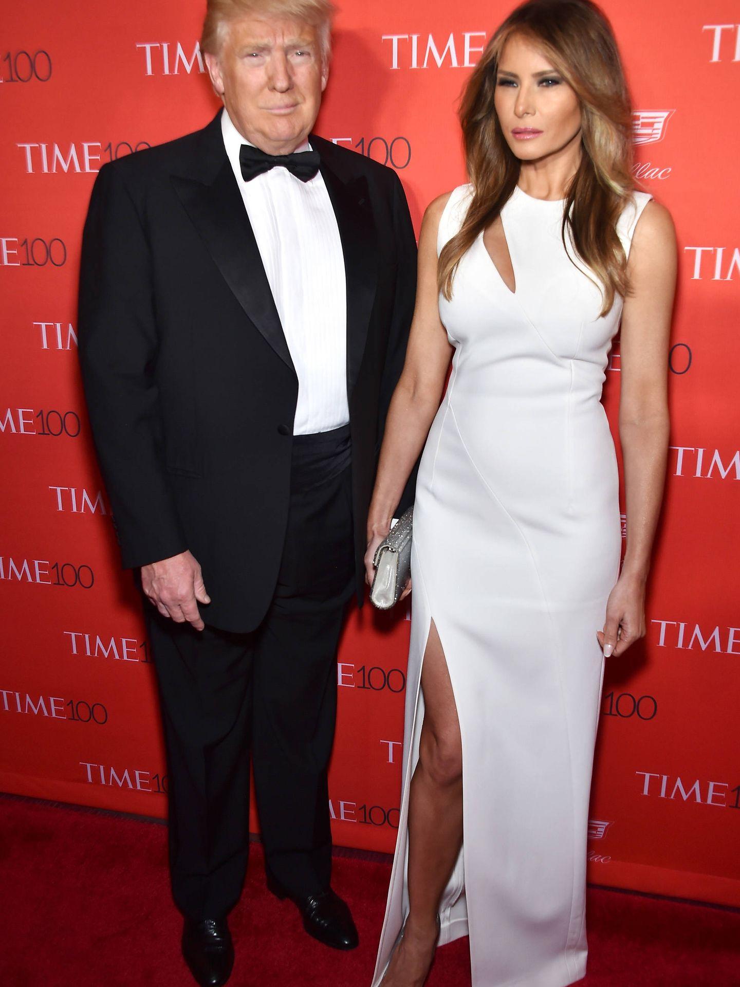 Donald y Melania Trump, en 2016. (Getty)