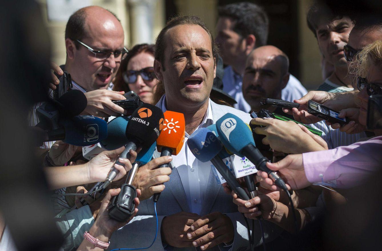Juan Cassà, candidato de Ciudadanos en Málaga (Efe).