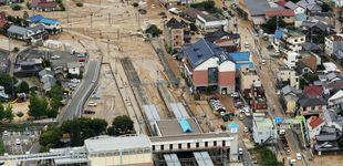 Post de Medio centenar de muertos en Japón por lluvias torrenciales