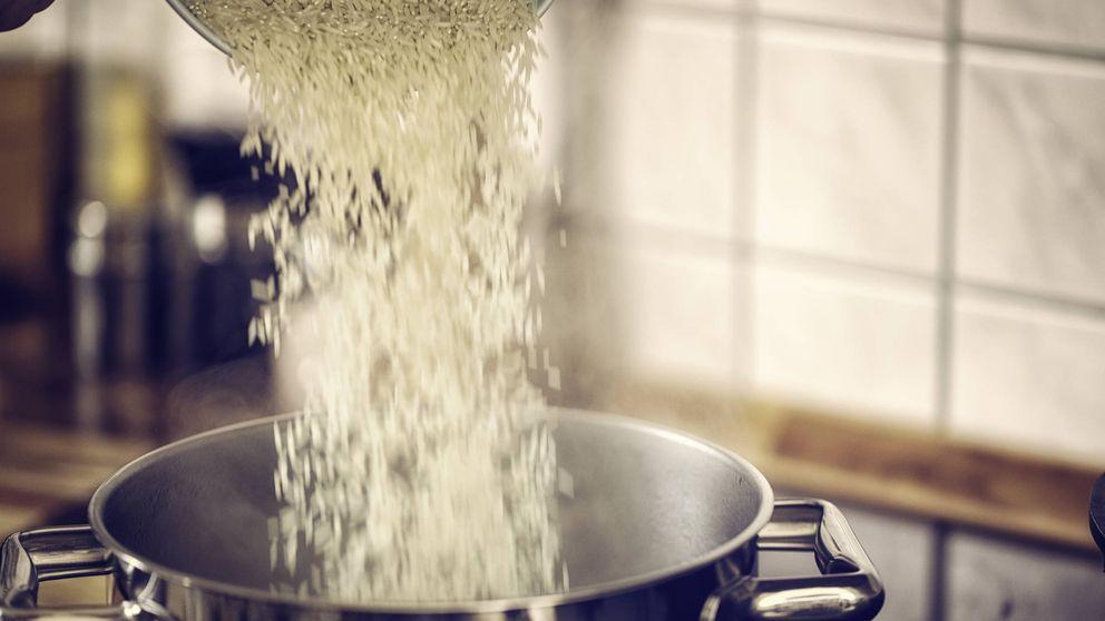 Cómo cocinar bien el arroz para que no se apelmace ni se pegue