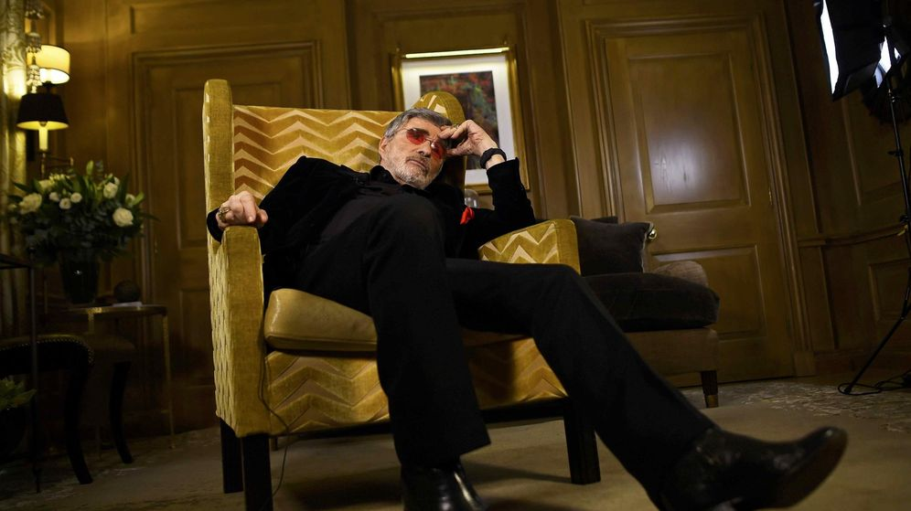 Foto: Hollywood actor Burt Reynolds poses for a portrait during an interview in London