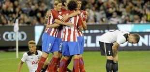 Post de El Atlético de Madrid convence en su primer examen ante el Tottenham