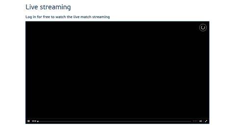 El 'streaming' de la UEFA para la Eurocopa hace aguas a la primera