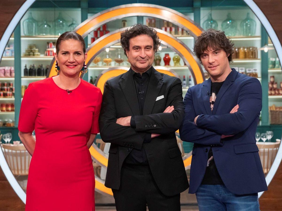 Foto: Samantha, Pepe y Jordi, jurado de 'MasterChef'. (EFE)