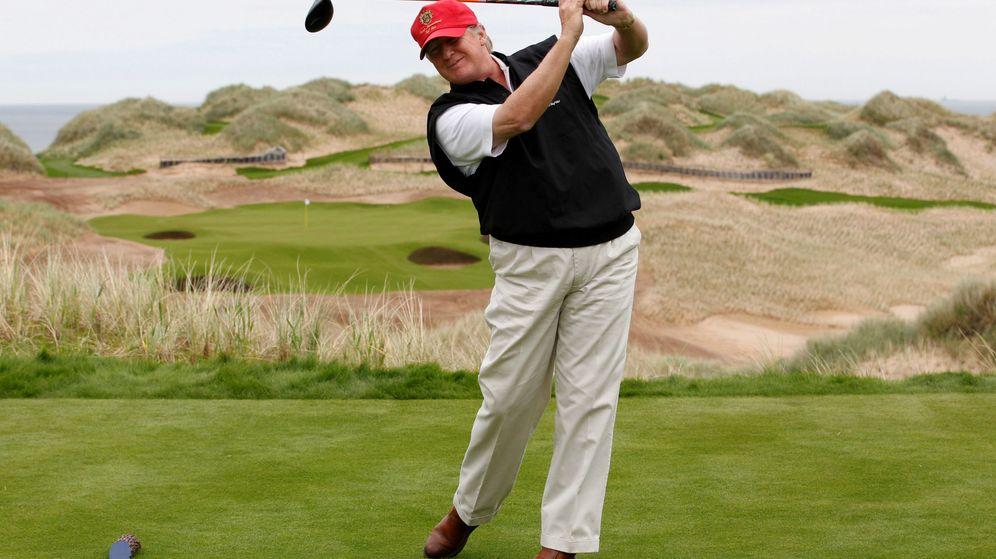Foto: Donald Trump es un auténtico apasionado del golf desde hace muchos años (Reuters/David Moir)