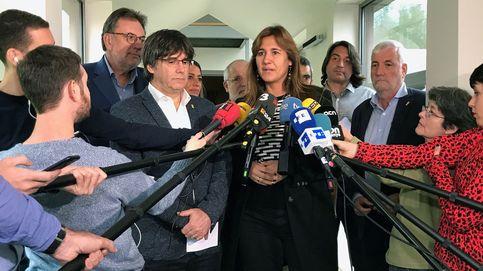 Puigdemont amenaza con retirarse de la campaña si Borràs insiste en ser candidata