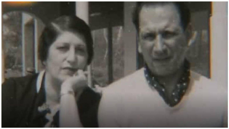 Fotograma de Ginés y Anita en el reportaje 'La apasionante vida de Anita Delgado' del programa 'Crónicas'. (RTVE)