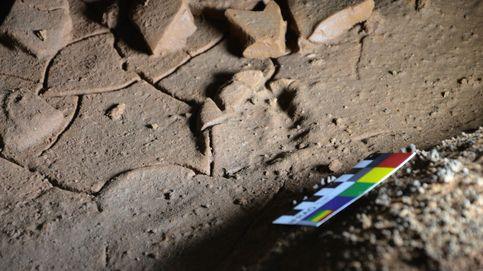 Hallan en la cueva cántabra de La Garma huellas de pies de niños de hace 16.500 años
