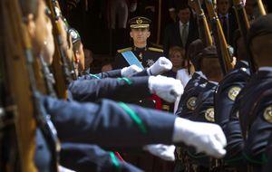 Felipe VI recupera los actos de la Pascua e incorpora a los reservistas