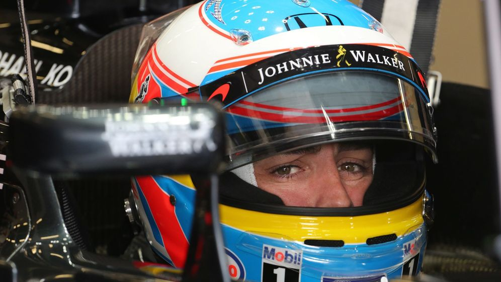Foto: Alonso regresó a una Q3 (Geoff Caddick/EFE)