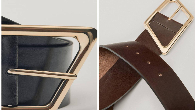Cinturón de Massimo Dutti. (Cortesía)