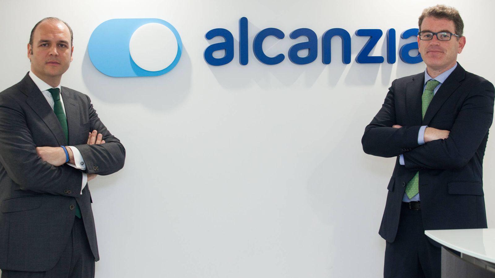 Foto: Roberto Giner, socio y director de Negocio de Alcanzia, y Rafa Montagud, director de Marketing.
