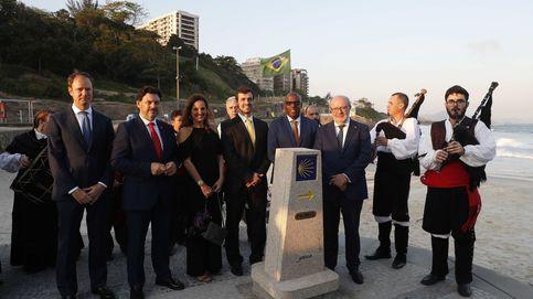 Galicia planea instalar un mojón del Camino de Santiago en Rusia