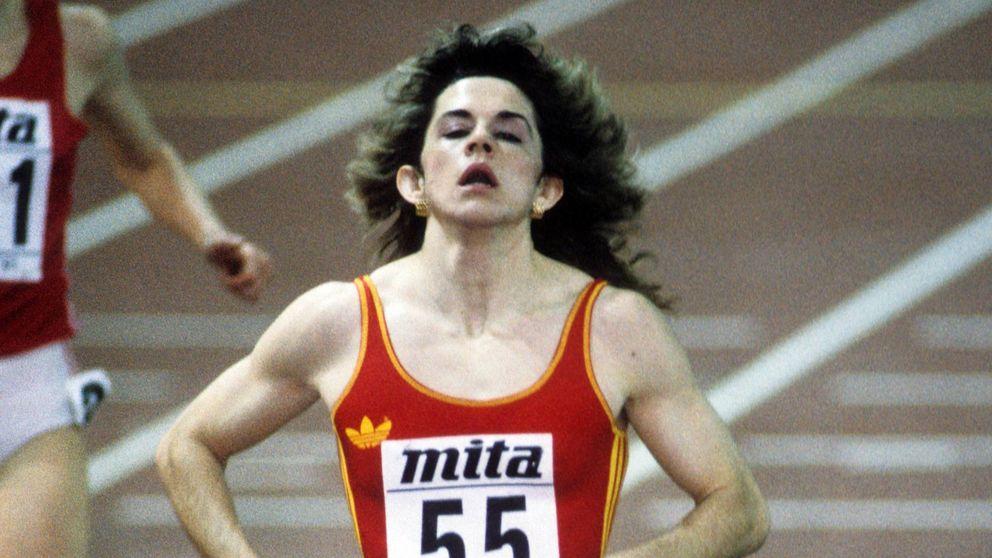 Los récords que peligran de Sandra Myers, la deportista que ha tenido tres vidas en una