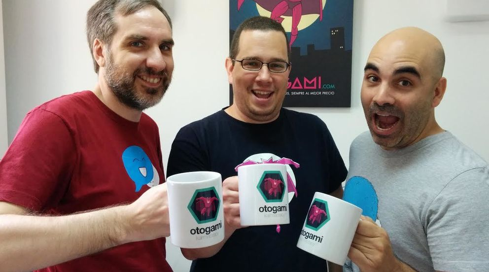 Foto: Jerónimo López, Yeray Darias y David Bonilla (Otogami)
