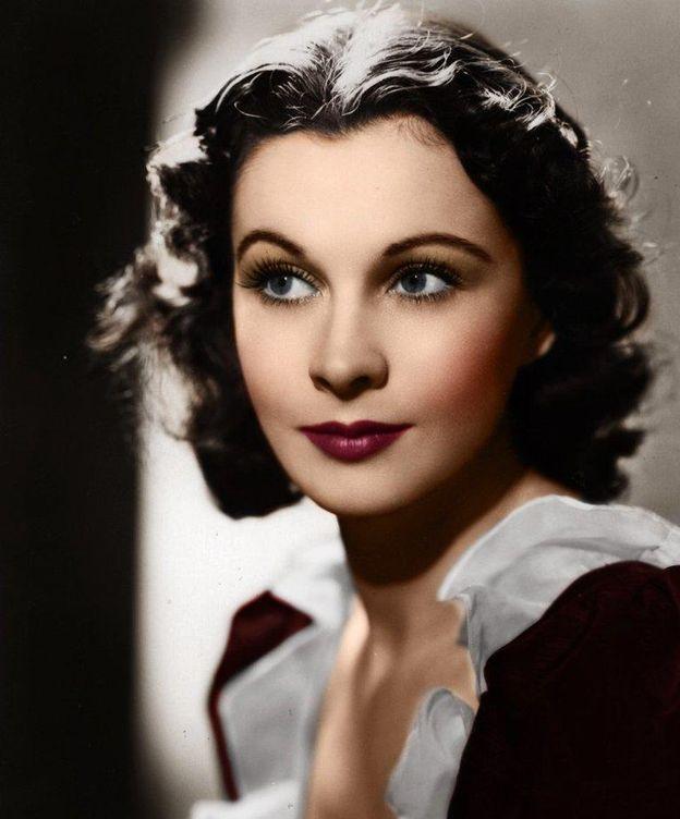 Foto: Vivien Leigh durante los primeros años de su carrera