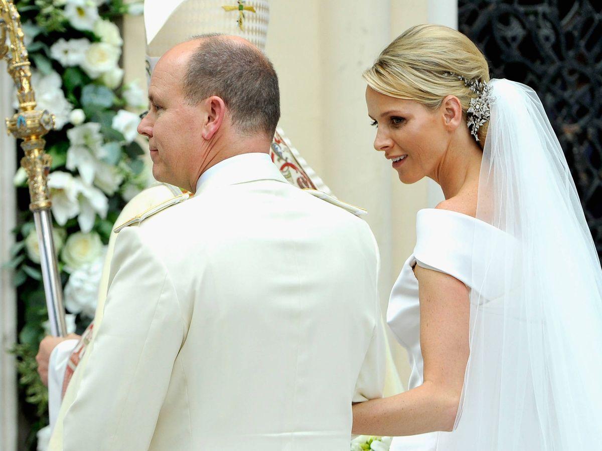 Foto: La boda de Alberto y Charlène de Mónaco. (Getty)
