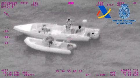 Doce detenidos por tratar de introducir dos toneladas de hachís en España