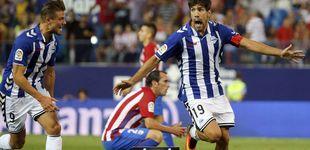 Post de Manu García y la mala puntería evitan el primer triunfo del Atlético en Liga