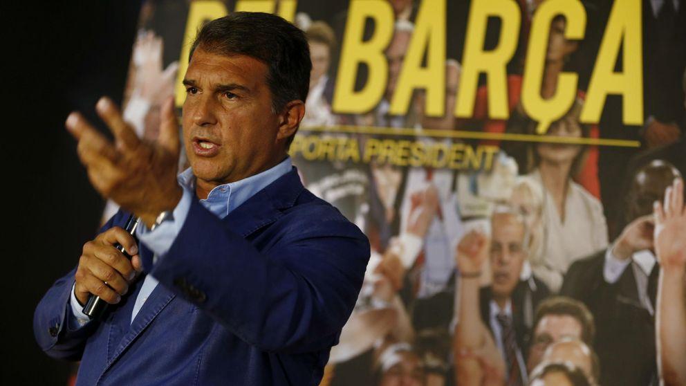 Los cromos y el desconcierto marcan la angustia en las elecciones del Barça
