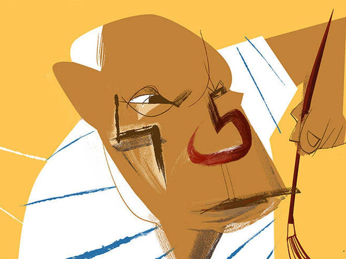 Foto: Ilustración de Pablo Picasso. (Jate)