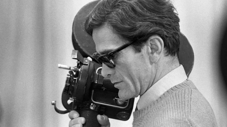 Pier Paolo Pasolini, en el rodaje de 'Salò', 1974.