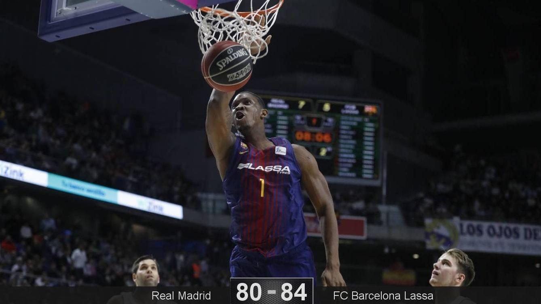 Foto: Kevin Seraphin fue uno de los mejores jugadores del partido. (ACB Photo/Á. Martínez)