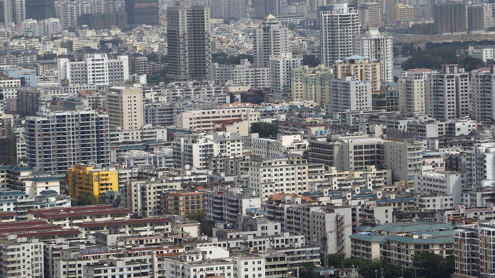Foto: Conjunto de edificios en China. (EFE)