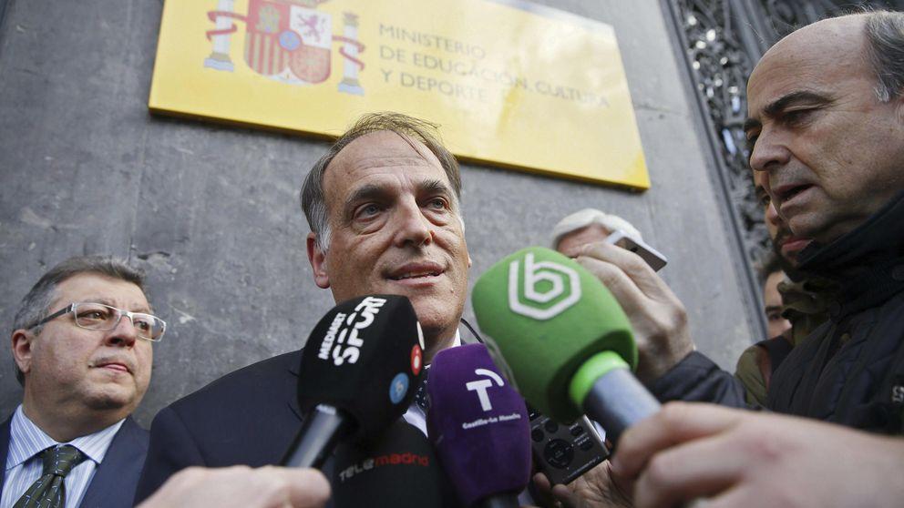 Villar planta a Wert y la Liga y Tebas pide a los clubes que dejen la RFEF