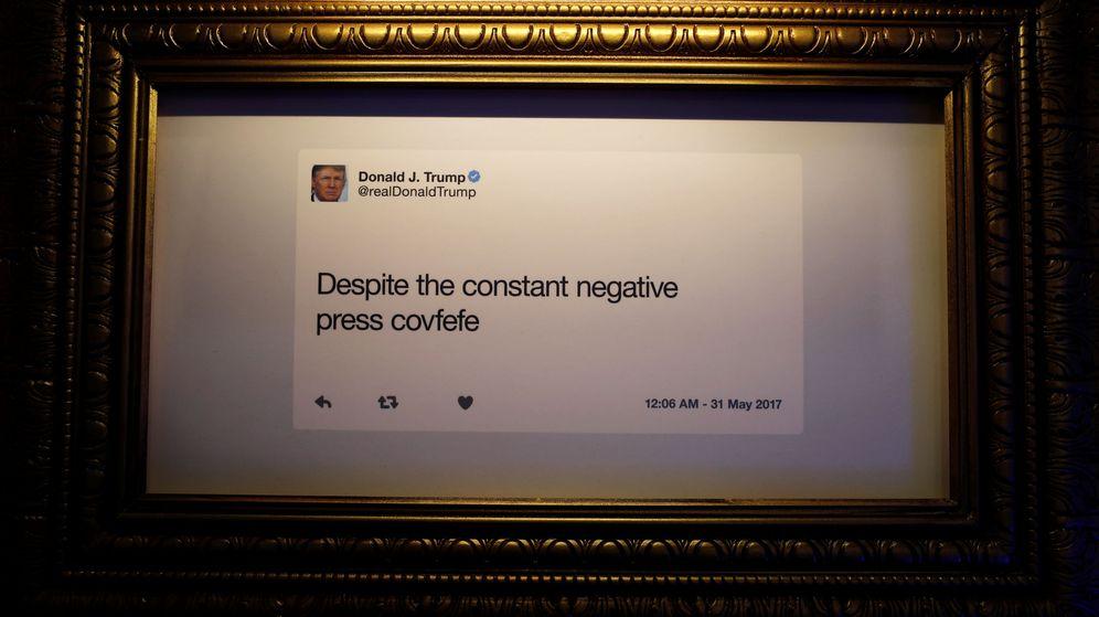 Foto: Crean una galería en Washington con la historia tuitera de Trump (Reuters)