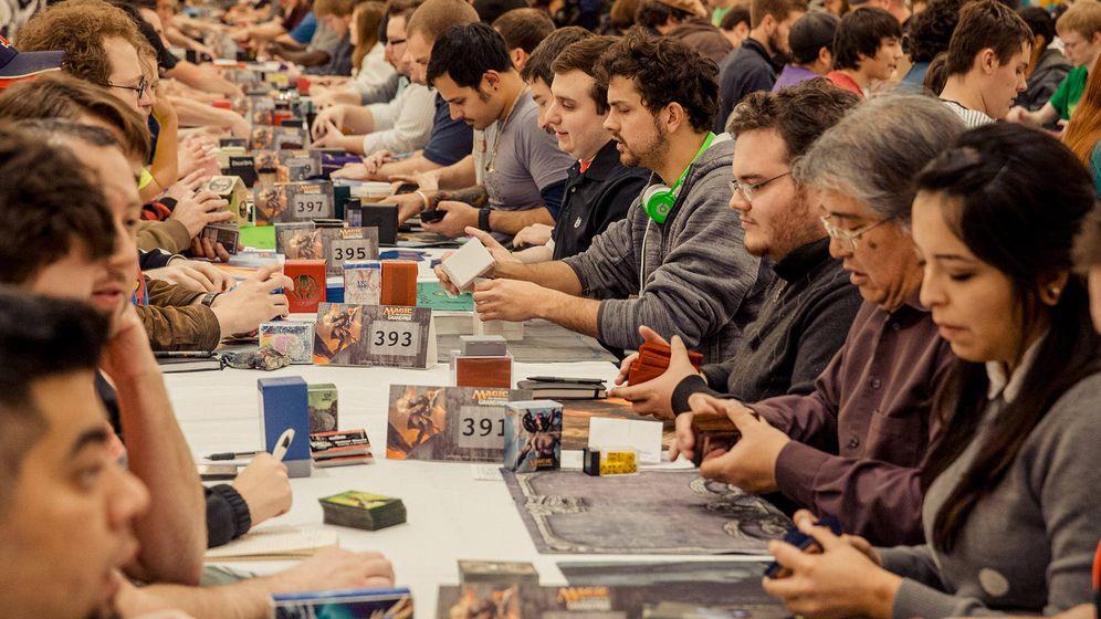 Foto: Torneo de 'Magic: The Gathering'. (Wizards of The Coast)