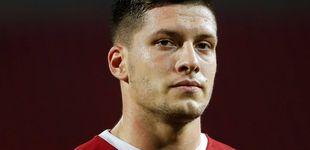 Post de Luka Jovic no levanta cabeza: señalado por Borja Mayoral y apagado con Serbia