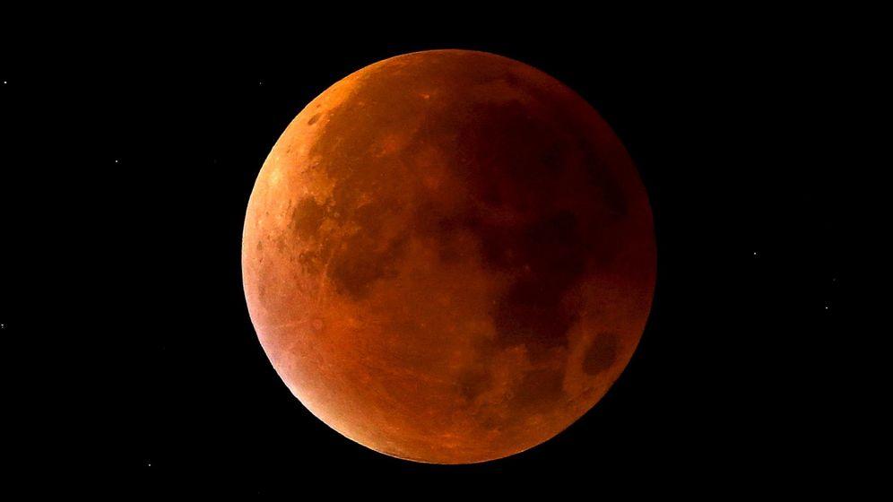 Foto: Así se vio el eclipse lunar que tuvo lugar el 28 de septiembre de 2015 (Foto: Reuters)