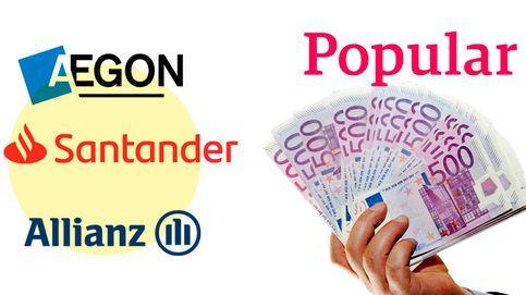 Guerra entre Aegon, Allianz y Santander por 1.000 millones derivados del Popular