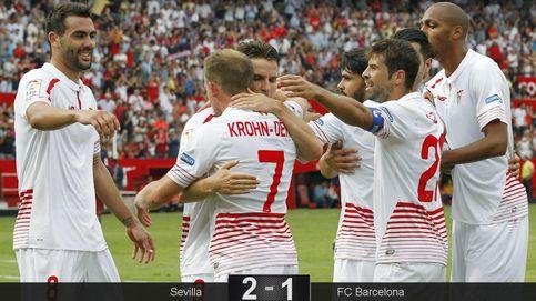 Sergio Rico y los palos frenan de nuevo a un Barcelona huérfano sin Leo Messi
