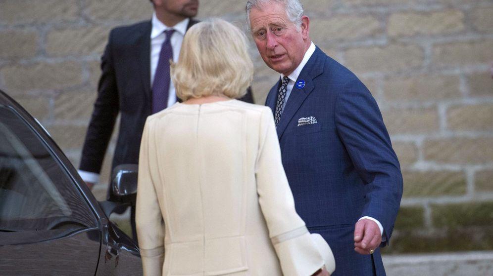Foto: El príncipe Carlos de Inglaterra y su esposa Camilla. (EFE)