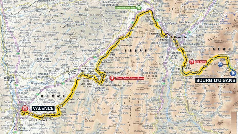 Recorrido de la decimotercera etapa | Tour de Francia 2018