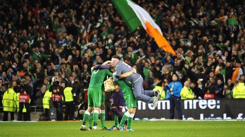Las aficiones de Irlanda e Irlanda del Norte, las mejores de la Eurocopa