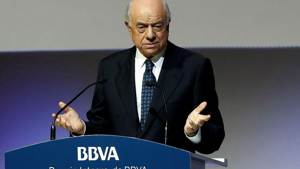 Foto: El expresidente del BBVA Francisco González. (EFE)