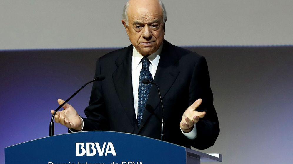 Foto: Francisco González, presidente de honor de BBVA. (EFE)
