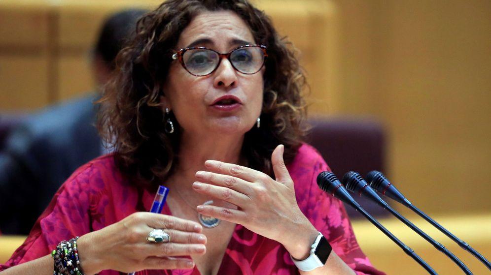 Foto: a ministra de Hacienda en funciones, María Jesús Montero. (EFE)