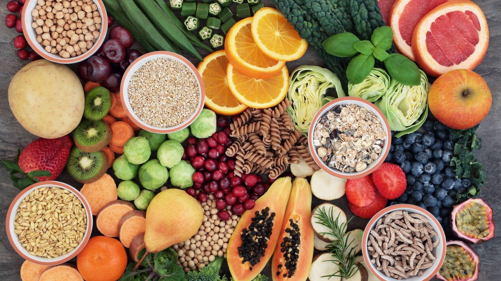 Optar por alimentos ricos en fibra