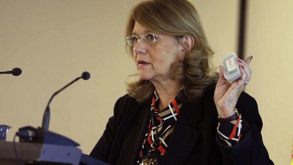 Foto: La presidenta de la Comisión Nacional del Mercado de Valores (CNMV), Elvira Rodríguez. (EFE)