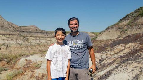 Un niño de 12 años descubre el esqueleto de un raro dinosaurio en Canadá