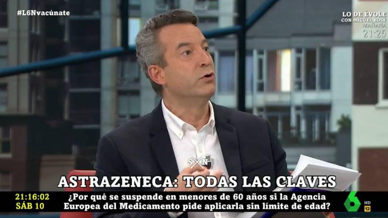 César Carballo atiza a la ministra de Sanidad en 'La Sexta noche': Es un despropósito