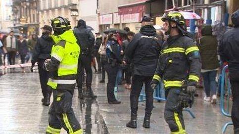 El viento en Madrid obliga a cerrar a Doña Manolita en la víspera del sorteo de Navidad