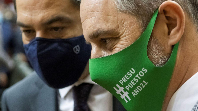 Vox aprieta en Andalucía para controlar el Presupuesto, pero PP y Cs sueltan lastre
