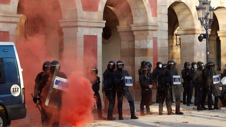La Diada 2019, en directo | Tensión frente al Parlament por una concentración de los CDR
