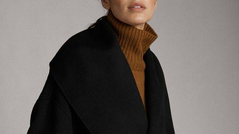 El abrigo de cashmere negro que deberías fichar ya en Massimo Dutti para comprar este Black Friday