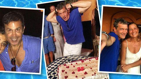 Antonio Banderas, 'pool party' en su casa de Marbella por su cumpleaños